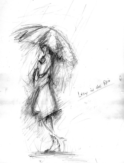 500x654 Shop Skinwerks Lady In The Rain