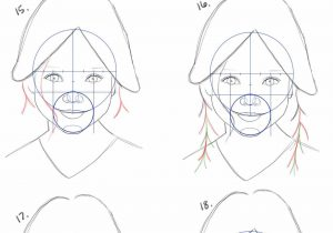 300x210 Step For Beginners Faces How To Draw Anime Girl Noses Step By Step