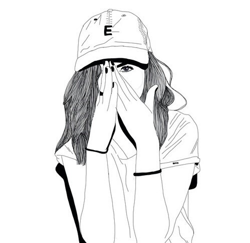 499x484 Image About Girl In Drawings By Martine On We Heart It