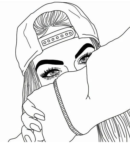 500x547 23 Best Outlines Images On Girl Drawings, Wallpapers