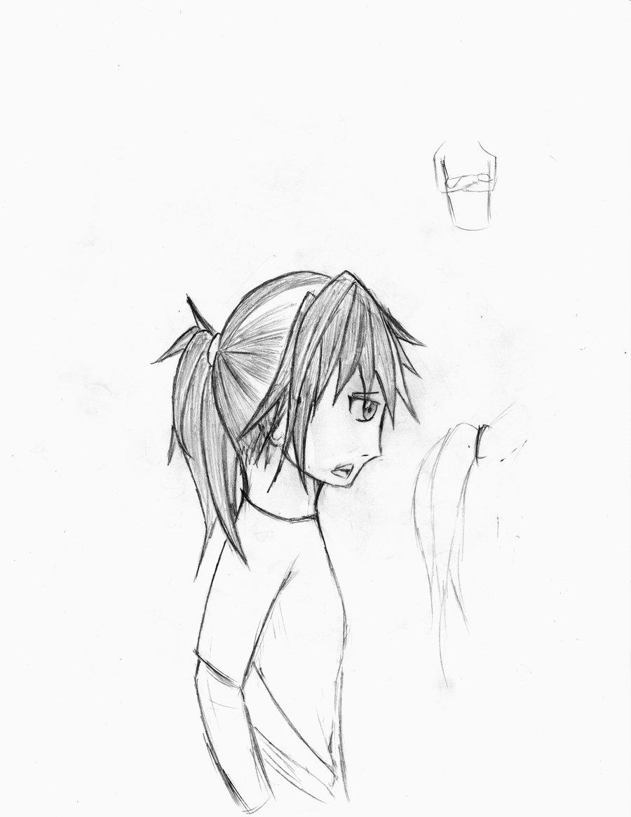 900x1165 Anime Girl Profile By Saikoyama