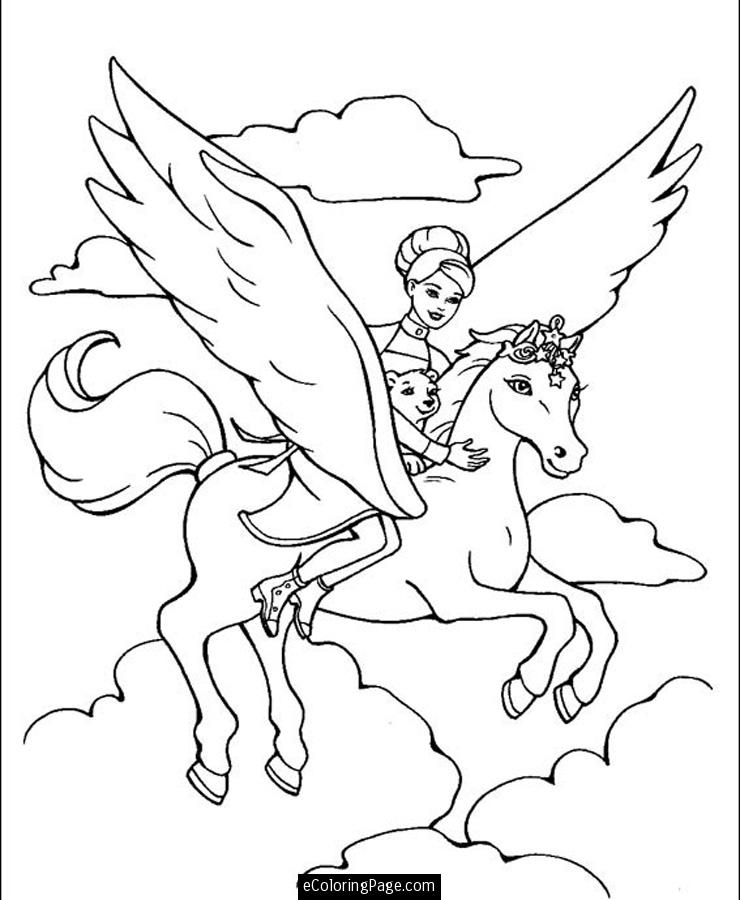 740x900 Horse Riding Coloring Pages Download And Print For Free Coloring