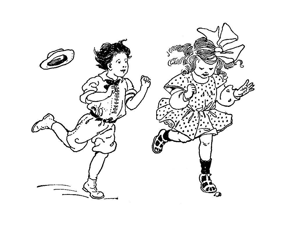 997x800 Digital Stamp Design Free Children Digital Stamp Boy And Girl
