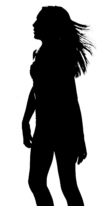 446x824 Filesilhouette Of Woman Walking.png