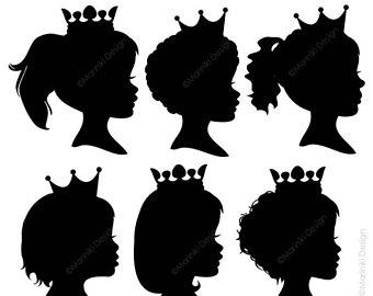 340x270 Girl silhouette Etsy