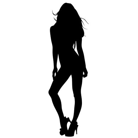 463x463 Sexy Girl Silhouette