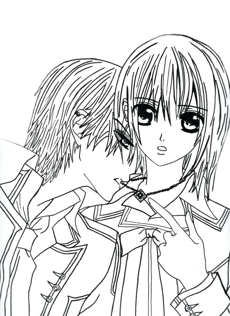 Girl Vampire Drawing at GetDrawings.com | Free for personal use Girl ...