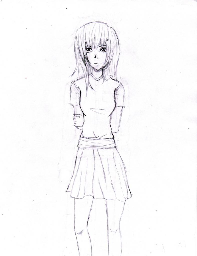 786x1024 Anime Girls Drawing Whole Body Anime Whole Body Drawing Anime Girl