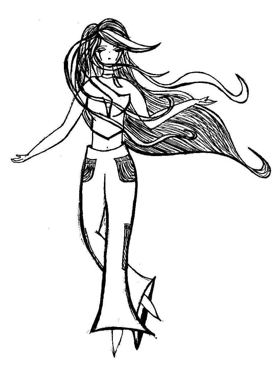 931x1230 B And W Goth Girl Full Body By Faeriechell