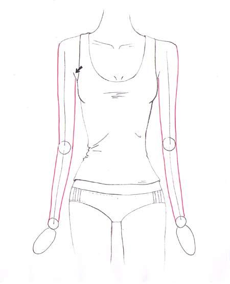 450x557 How To Draw Arms I Draw Fashion