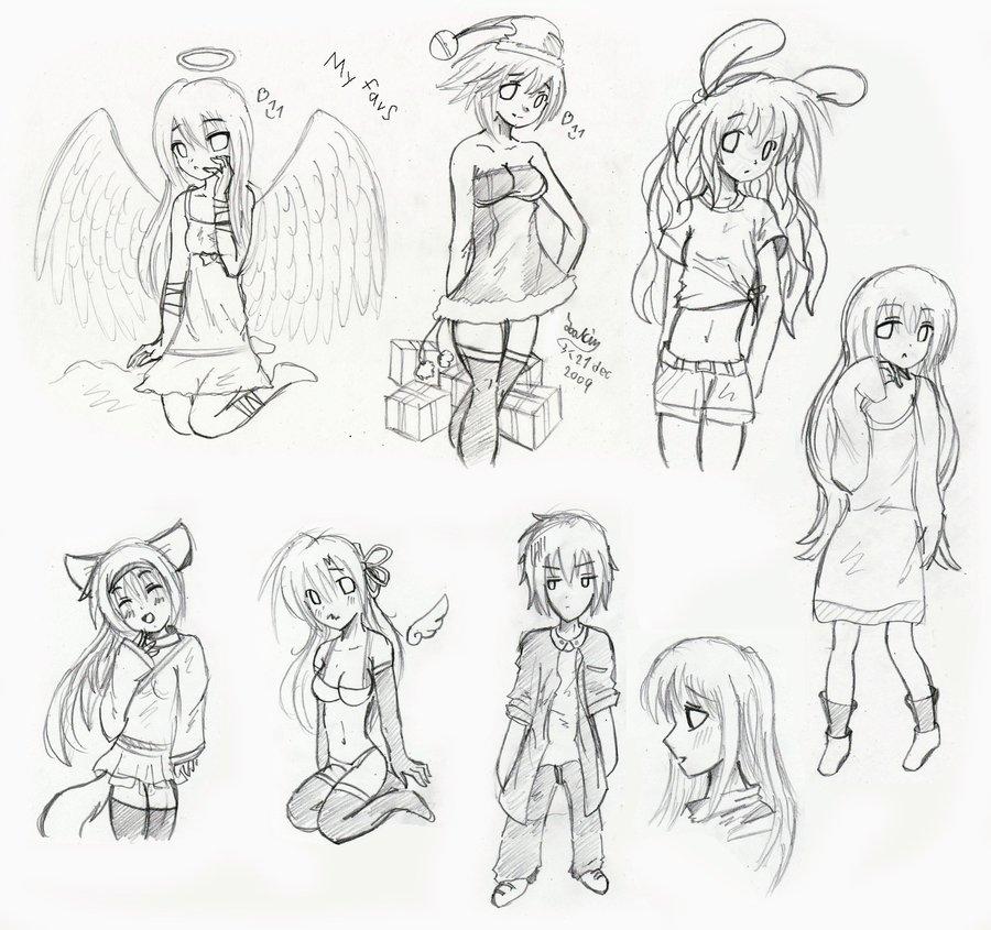 900x845 Anime,manga Body Practice 2 By Joakaha