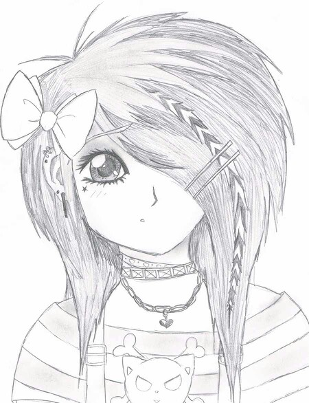 450x586 Pin By Peggy Hoover On Cute Hair Styiles Drawings