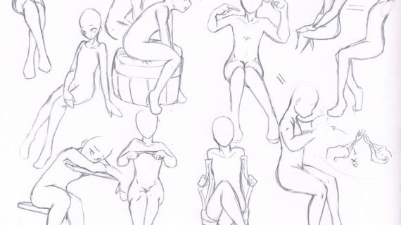570x320 Tag Drawing Anime Girl Body
