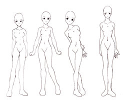 262x200 How I Draw The Female Body By ~chickiedee On Drawing