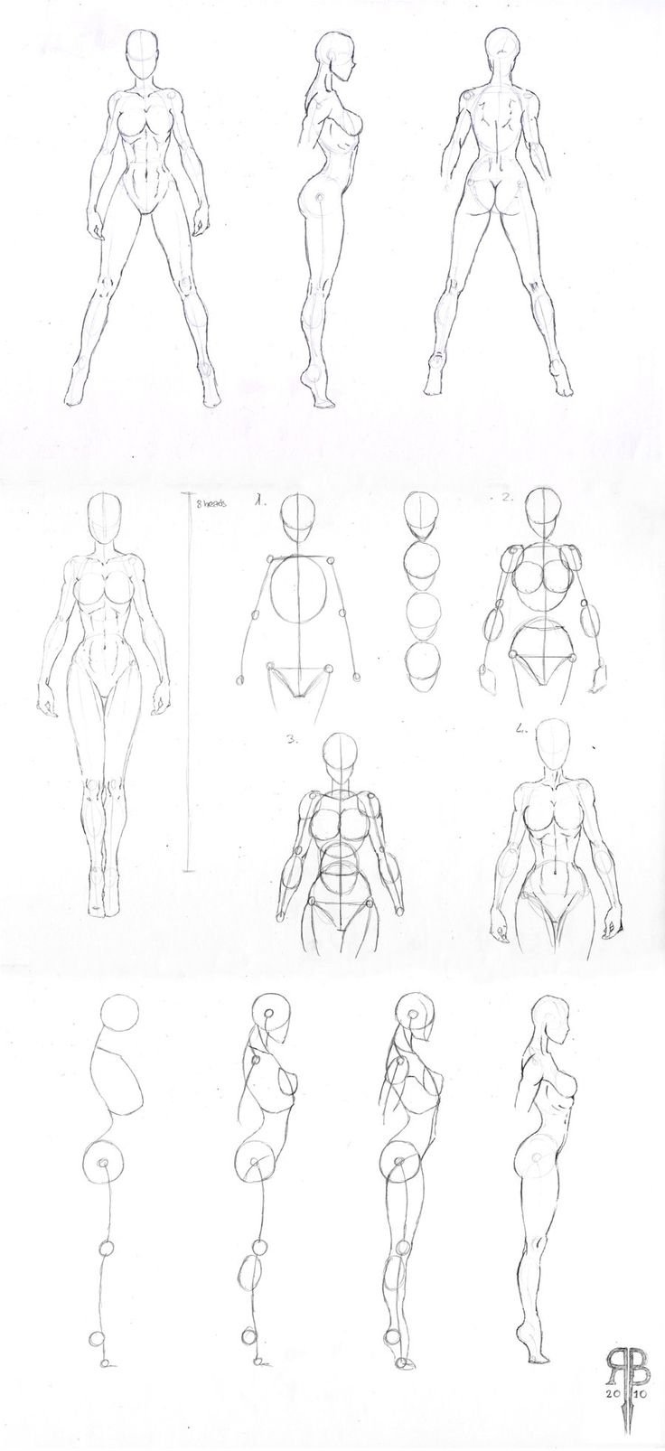 736x1606 Body Drawing Reference Sketch Of Girls Whole Body Simple Best