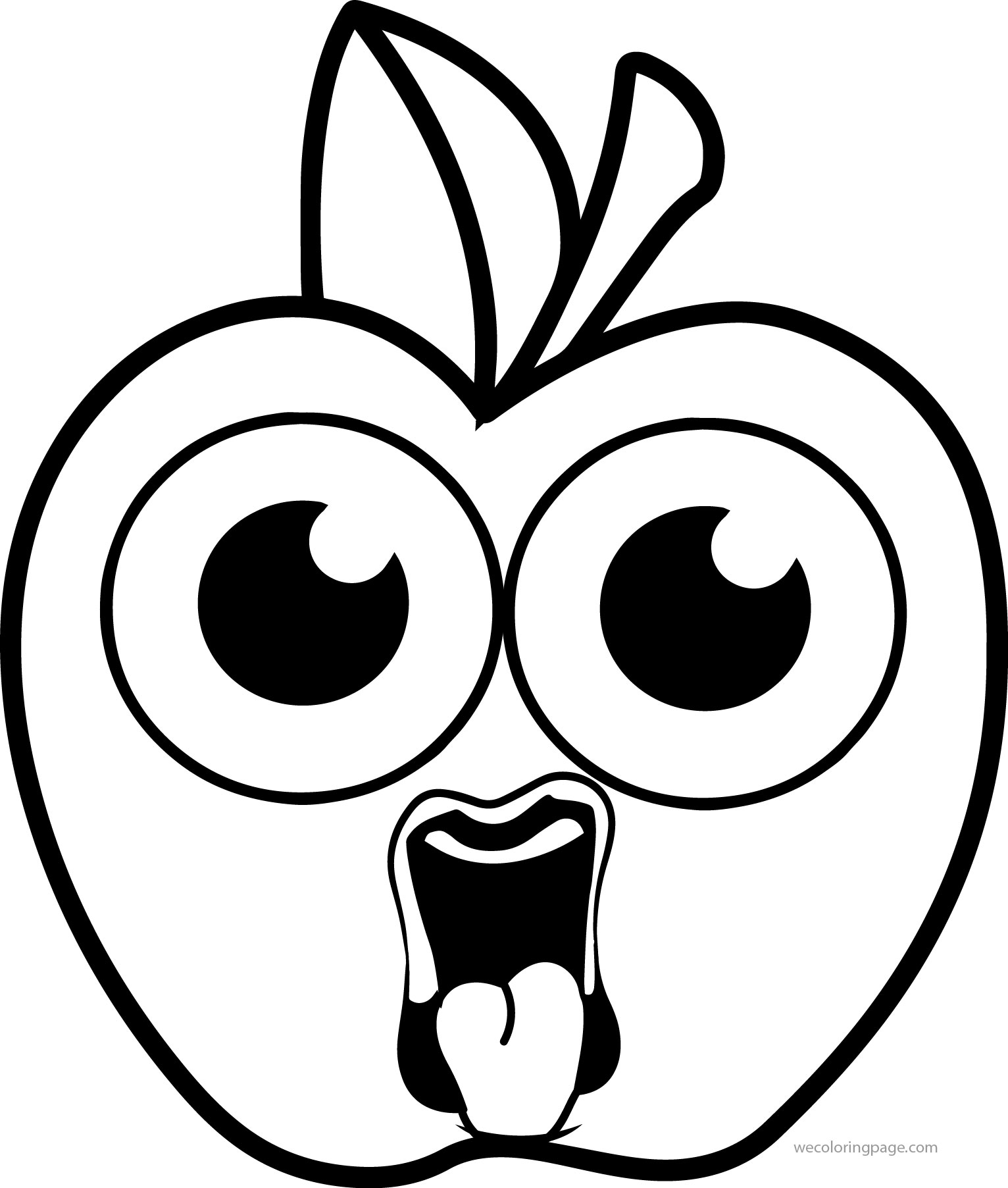 1532x1805 Girl Cartoon Apple Ugly Coloring Pages Wecoloringpage