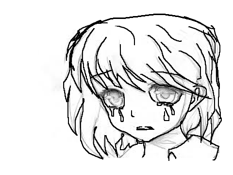 480x360 Crying Anime Girl Drawing On Scratch