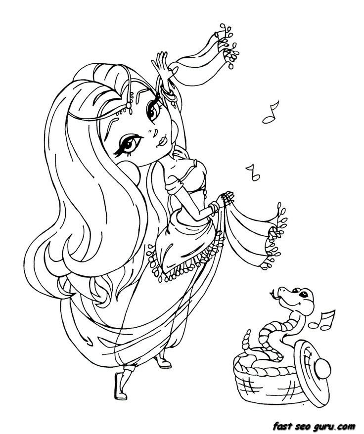 736x878 Coloring For Girls Dancer Page Image Clipart Images