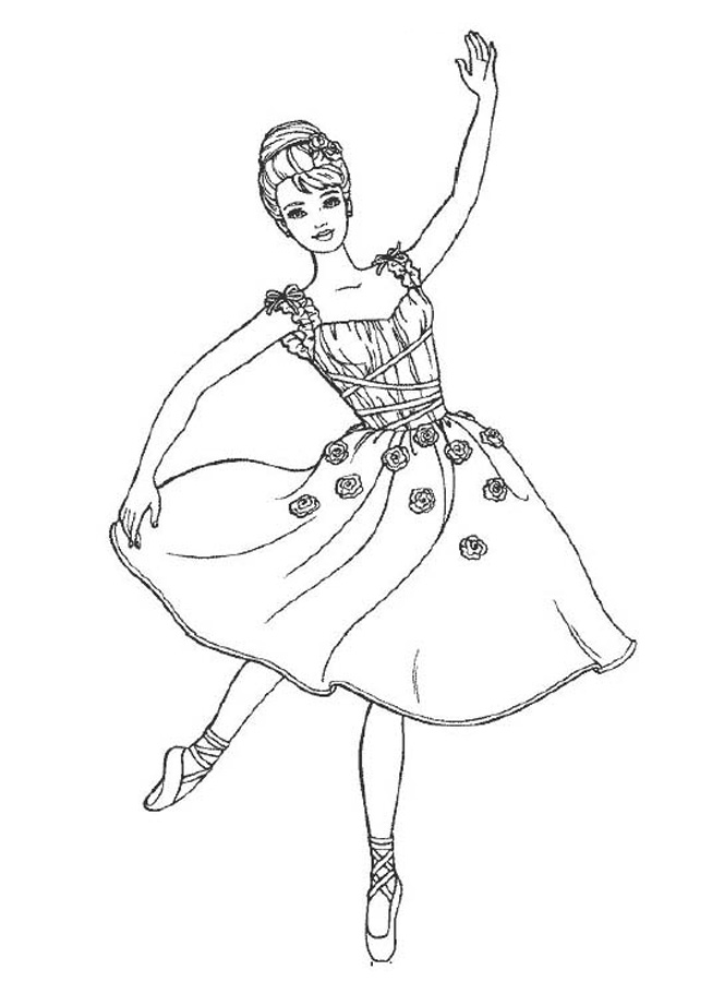 653x900 Dance Coloring Pages