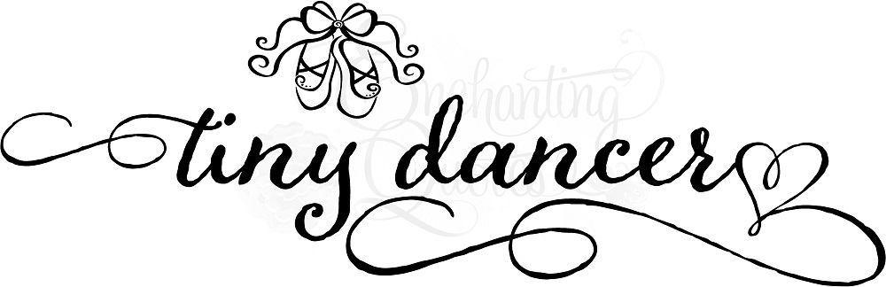 1000x324 Dance Quotes For Little Girls, Vinyl Dance Wall Quotes