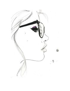 236x307 Girl Face Drawing Tumblr Clipart Panda