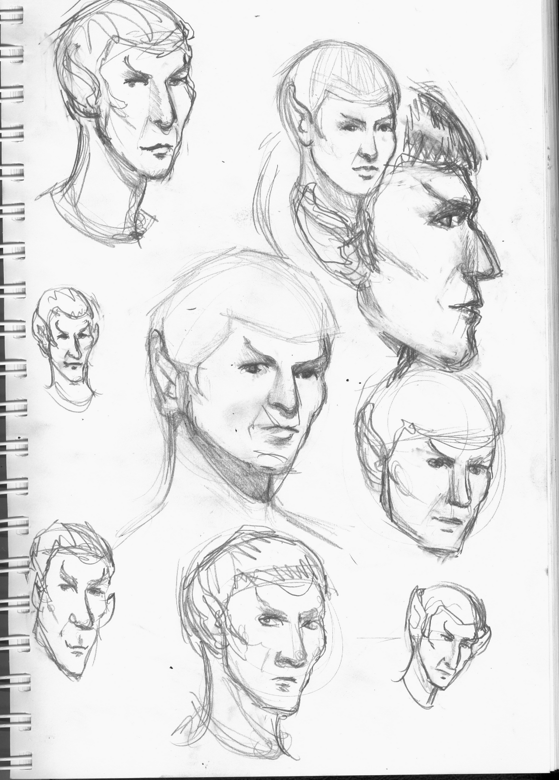 1147x1600 Girls Face Pencil Drawing