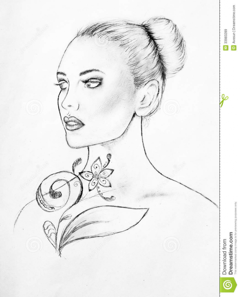 827x1024 Beautiful Faces Sketches Wallpapers Sketches Of Beautiful Faces