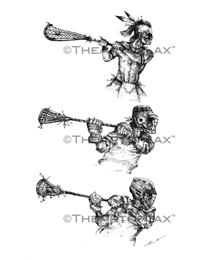 792x1008 This Is A Cool Evolution Of Lacrosse From Native Americans, To