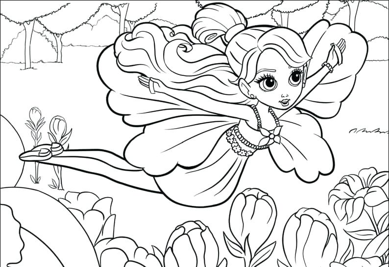 cute girly printable coloring pages - photo#43