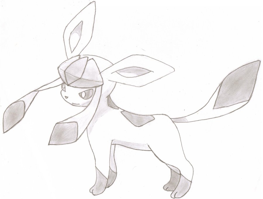 900x680 Glaceon By Artitionist