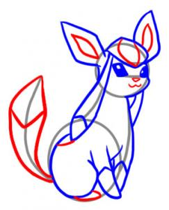 243x302 How To Draw Glaceon