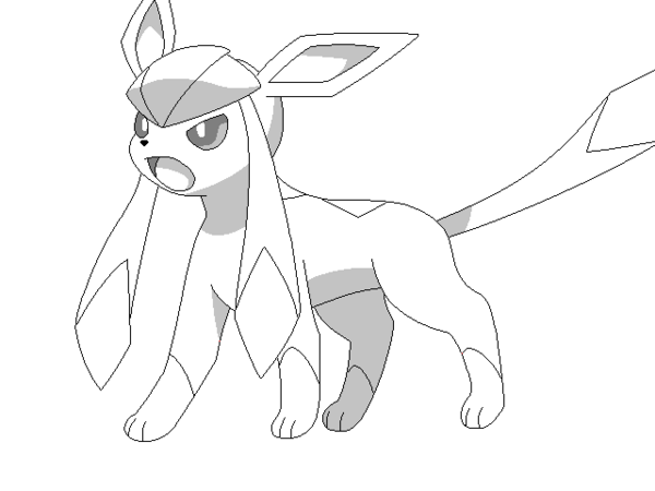 600x450 Light Cream The Glaceon By Enderpachi