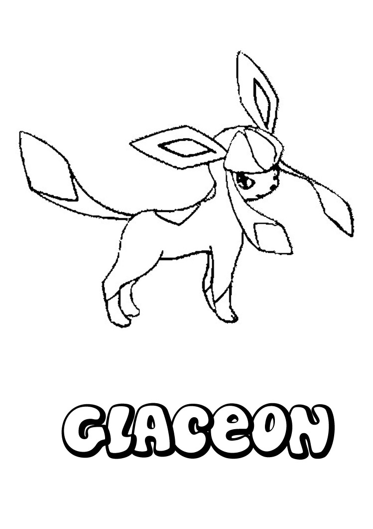 749x1060 Pokemon Coloring Pages Glaceon Coloring Pages For Kids Pokemon