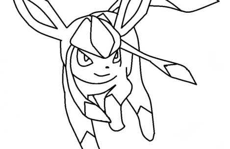 469x304 Pokemon Coloring Pages Eevee Evolutions Glaceon Just Colorings