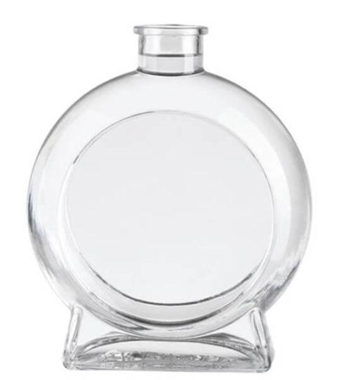 480x540 Decorative Glass Bottles For Liquor Vodka Bottle