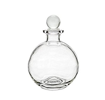355x337 Nakpunar Spherical Clear Glass Bottle With Glass