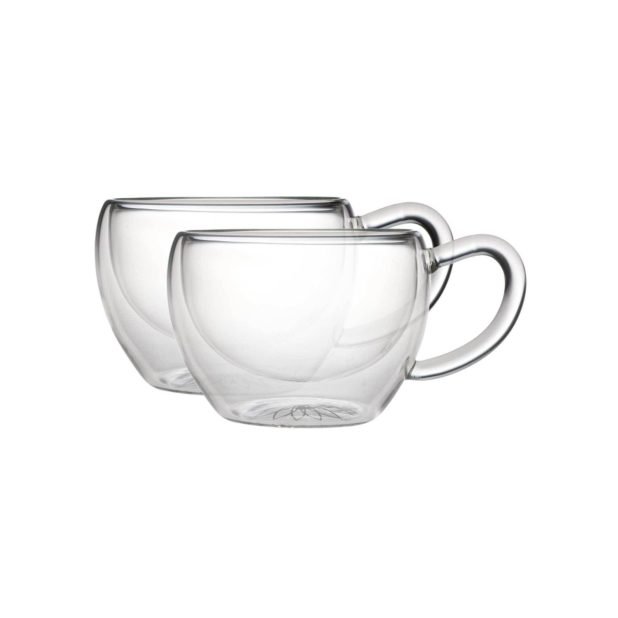 2048x2048 Socrates Double Walled Glass Tea Cups (Set Of 2) 6oz
