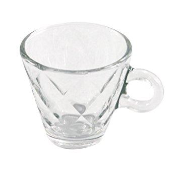 355x355 Bormioli Rocco 1316310 Kaleido Glass Espresso Cup Without Plate