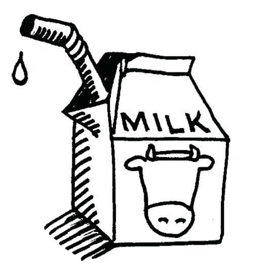 500x539 Milk Coloring Pages Dalmatian Asking For Milk Coloring Page