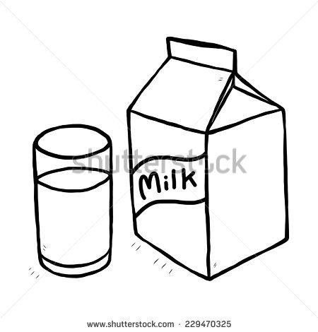 450x470 Beautiful Carton Of Milk Cartoon Glass Milk Milk Carton Cartoon