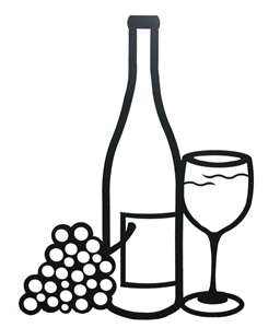 256x300 Picture Of Wine Bottle And Glass! My Style Wine