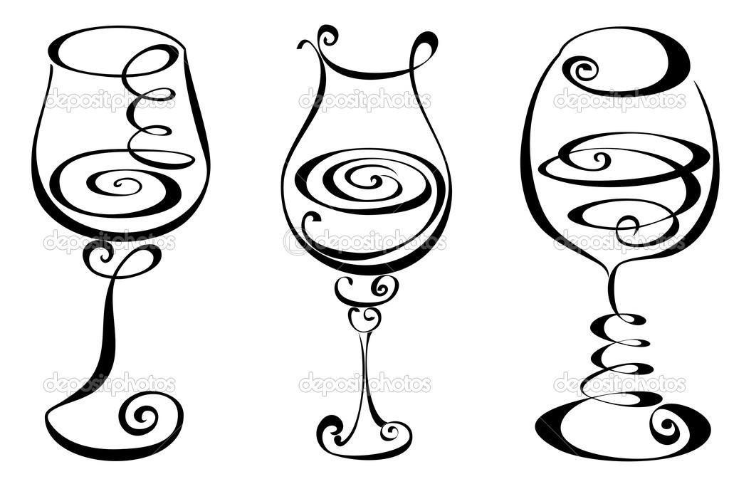1024x680 Set Stylized Wine Glass Wine Glasses Wine, Glass