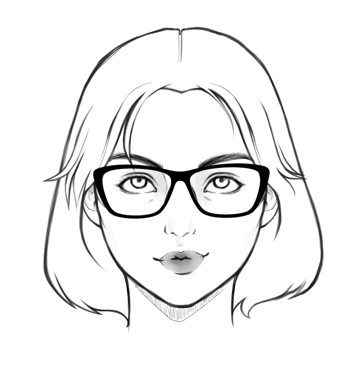 1204x1234 Glass Frames According To Your Face Shape Spectoworld