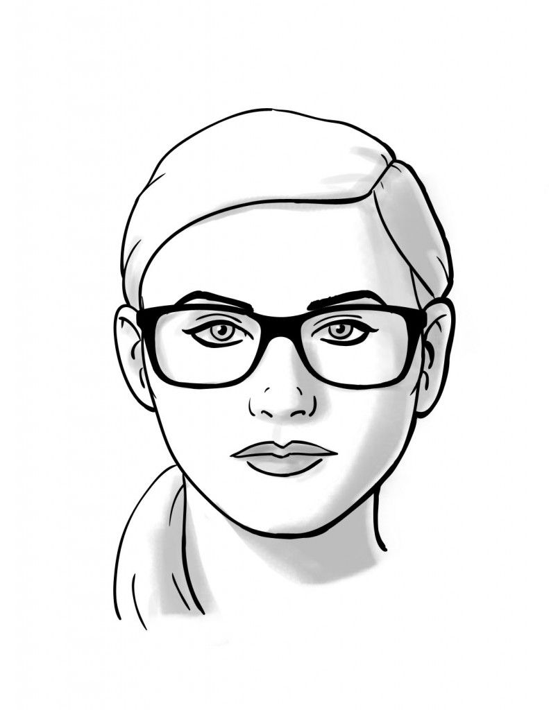 791x1024 How To Choosing Glasses For Round Face Shapes Face Shapes