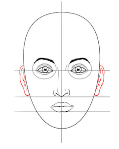 241x300 Drawing The Female Face