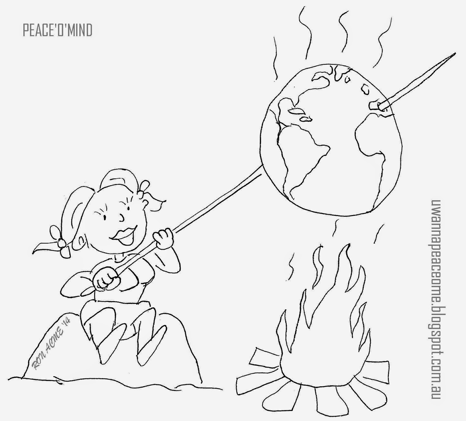1600x1444 Ronnie Peace's Peace'O'Mind Man Made Global Warming, And Other