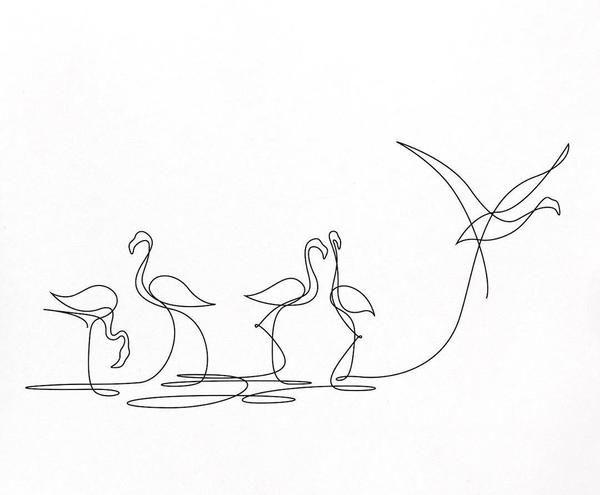 600x495 Zeichnen Mit Nur Einem Strich Linienkunst Aus Frankreich Von