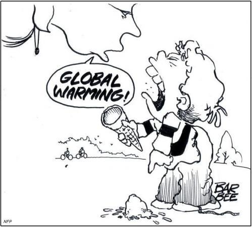 499x449 Global Warming By Barbeefish Politics Cartoon Toonpool