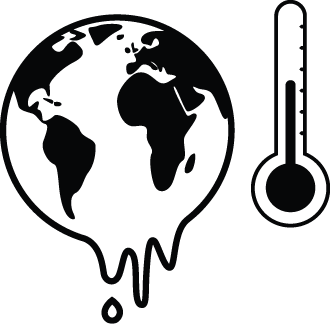 330x324 Global Warming Clipart Black And White