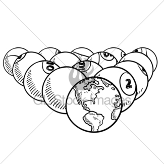 325x325 Global Warming Sketch Gl Stock Images